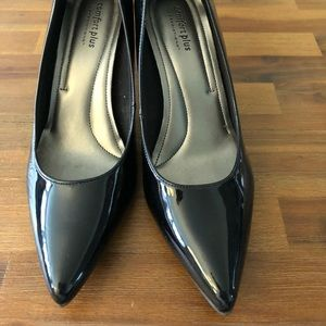Predictions Comfort Plus Patent Pointy-Toe Pumps